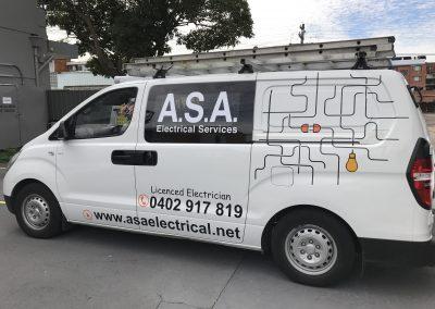 ASA Van Wraps