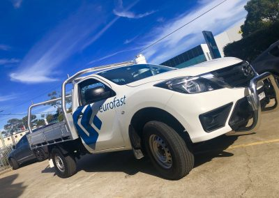 Small Ute Decal