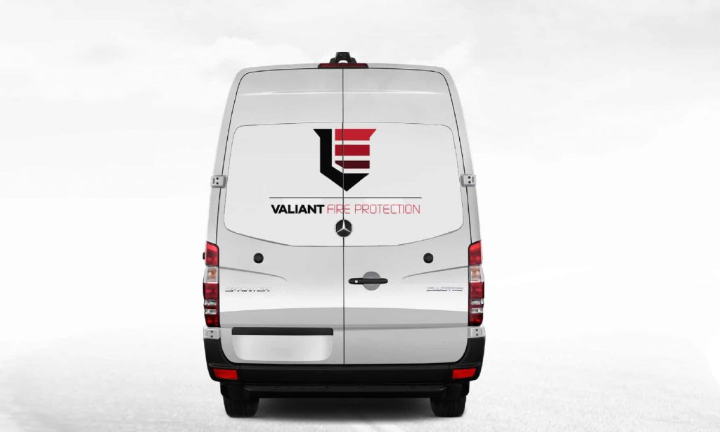 One way vision for a small to medium size van