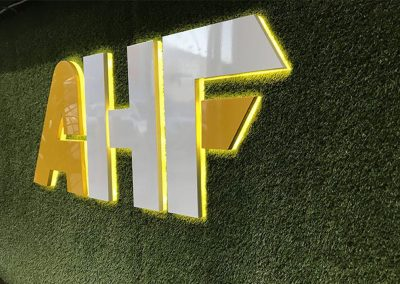 3D Signage - All Hours Fitness