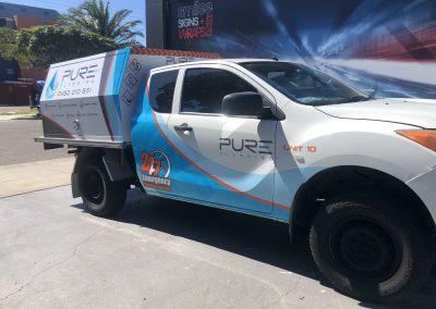 Pure Plumbing Ute Wraps