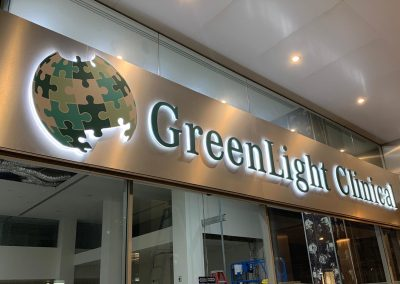 Shop Signs - Greenlight Clinical