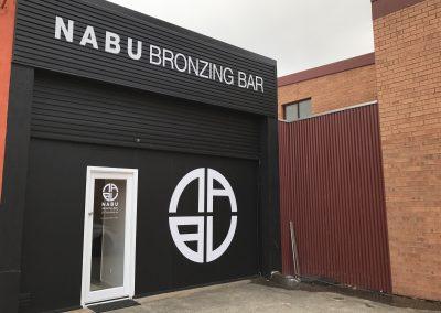 Shop Signs - NABU Bronzing Bar
