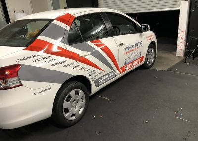 Vehicle Wrap - Sydney Metro