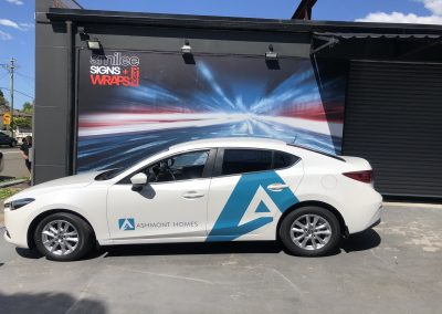 Vehicle Wraps - Ashmont Homes