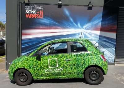Vehicle Wraps - Bondi Grass