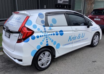 Vehicle Wraps - Kris & Li Cleaning