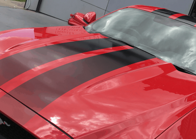 Simple Touch on Ford Mustang