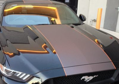 Sporty Wrap on Ford Mustang