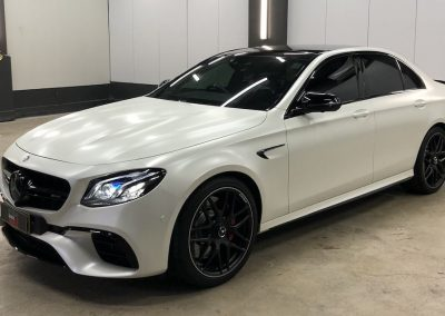 Stunning Colour Change Wrap on Mercedes AMG